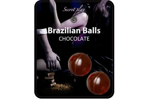 brazilian balls chocolate set 2 bolas