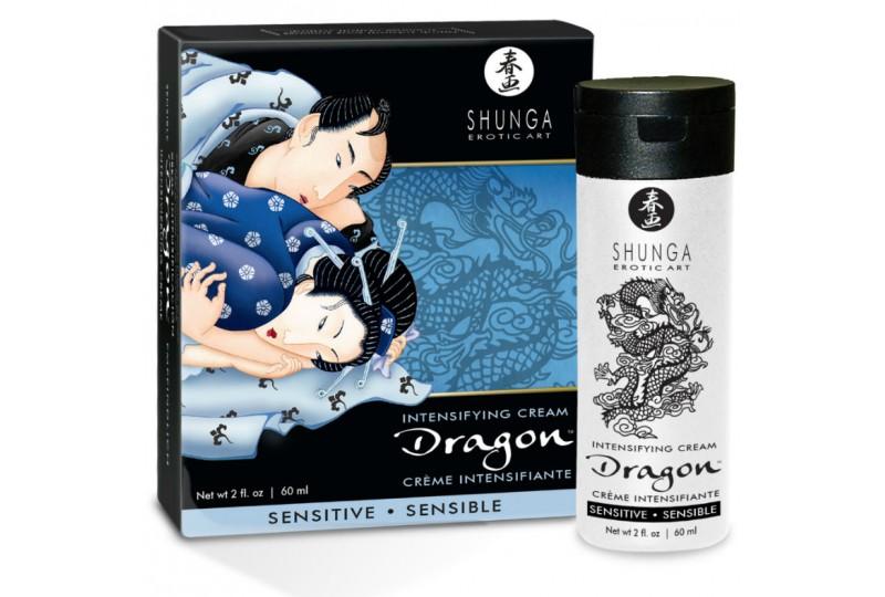 shunga dragon crema sensitive para parejas