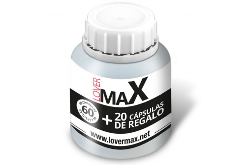 lovermax strong men 60 20 capsulas gratis 550mg