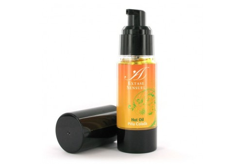 extase sensuel aceite estimulante calor piña colada 30ml