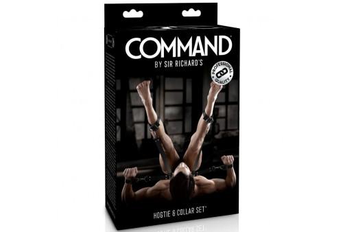 sir richards command set con hogtie y collar