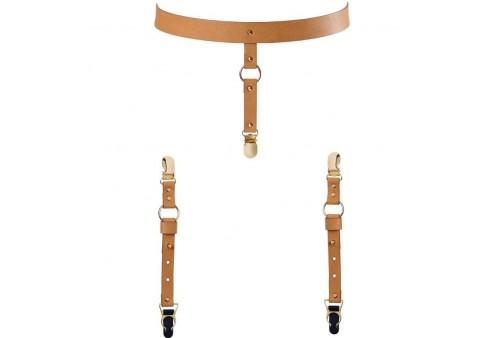 bijoux indiscrets maze liguero para ropa interior y medias marron