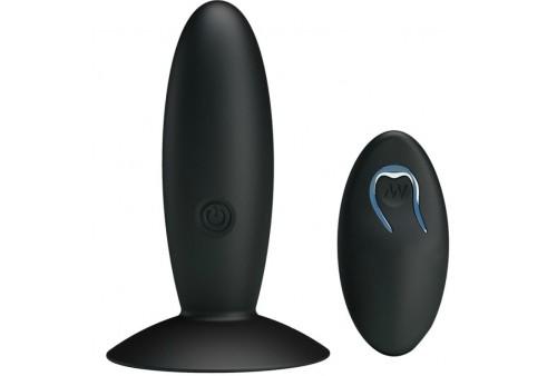 pretty love bottom plug anal recargable con vibracion y mando