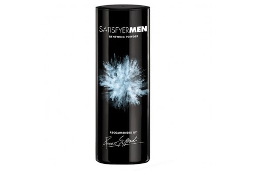 satisfyer men polvo renovador