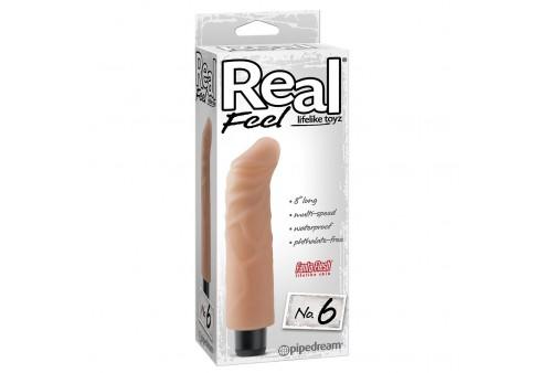 real feel lifelike toyz vibrador num 6 natural