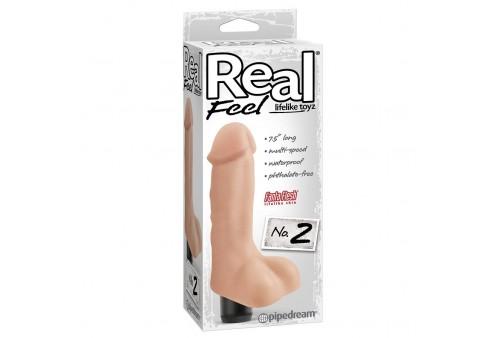 real feel lifelike toyz vibrador num 2 natural