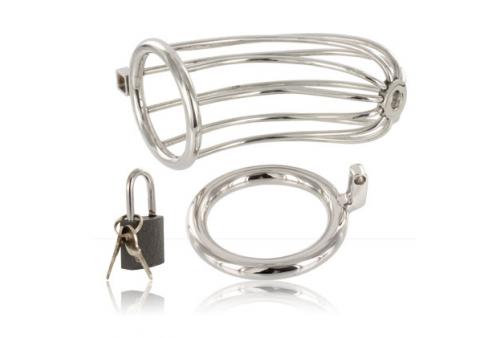 metal hard jaula anillo castidad bird