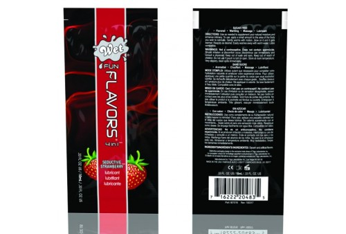 wet fun flavors 4 in 1 sabor a fresa seductiva 10ml