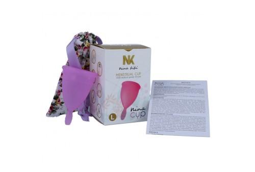 nina cup copa menstrual talla l lila