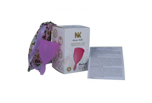 nina cup copa menstrual talla s lila