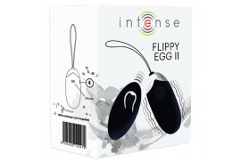 intense flippy ii huevo recargable remoto negro