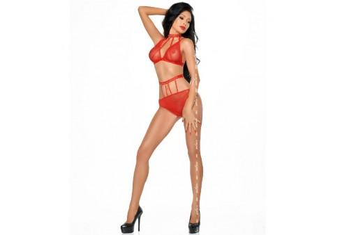 me seduce dotty set dos piezas rojo xxl xxxl