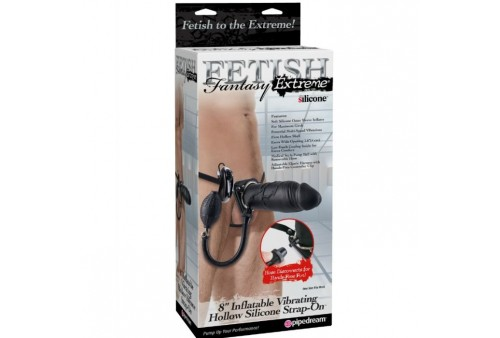 strap on con dildo hinchable y vibracion fetish fantasy extreme 8