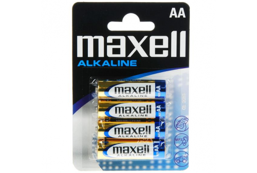maxell pila alcalina aa lr6 blister4 eu