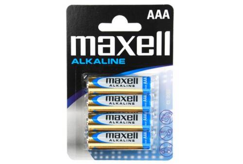 maxell battery alcalina aaa lr03 blister4 eu