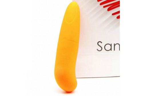 saninex mini vibrador multi exciting woman naranja