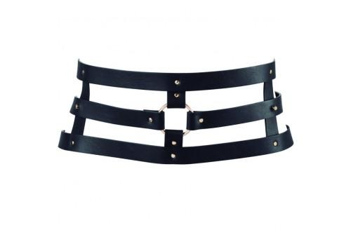 bijoux indiscrets maze cinturon con correa negro