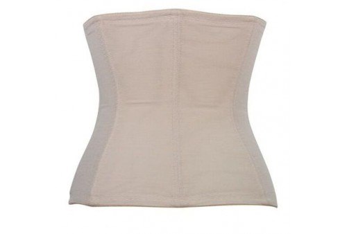 queen corsets beige flower talla xl