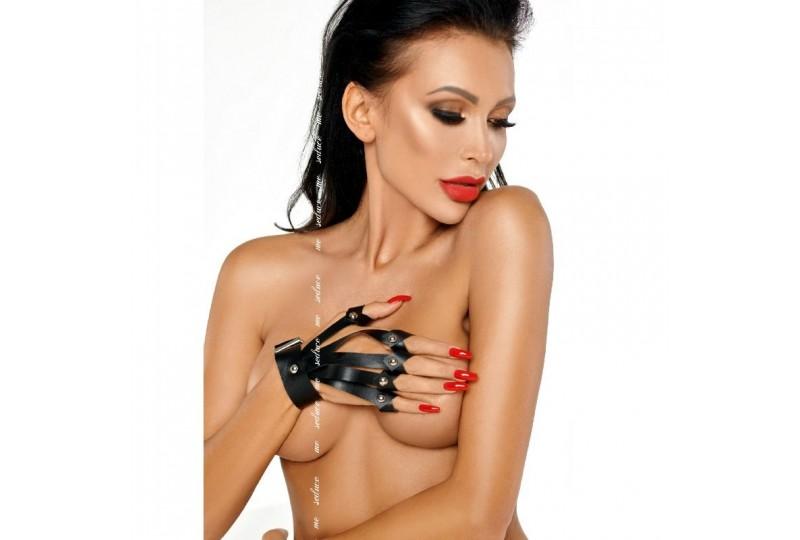 me seduce guantes negro s m