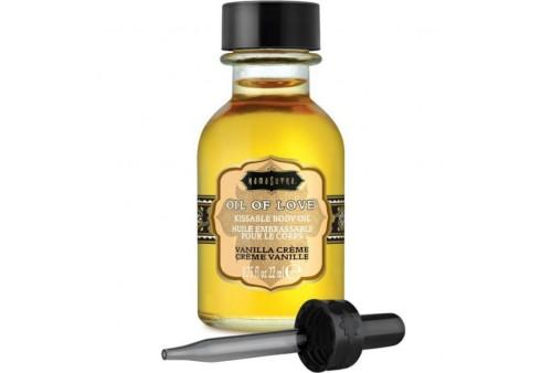 kamasutra oil of love aceite comestible especial preliminares vainilla 22 ml