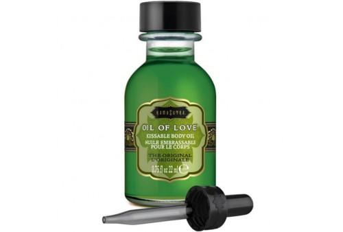kamasutra oil of love aceite comestible especial preliminares the original 22 ml