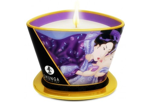 shunga mini caress by candelight vela masaje frutas exóticas 170ml
