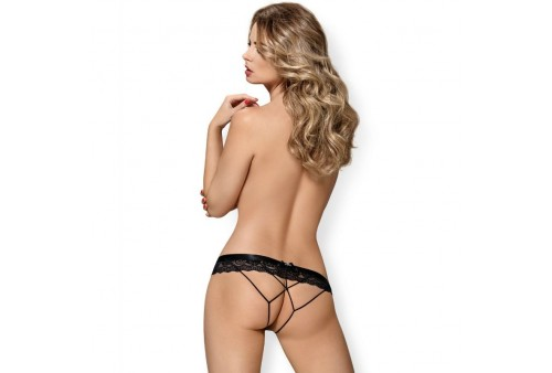 obsessive 854 pac 1 panties con abertura s m