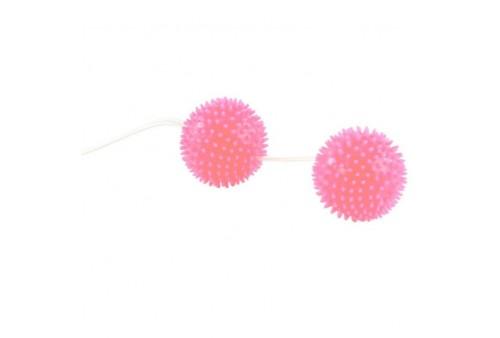 a deeply pleasure bolas texturadas rosa 36 cm
