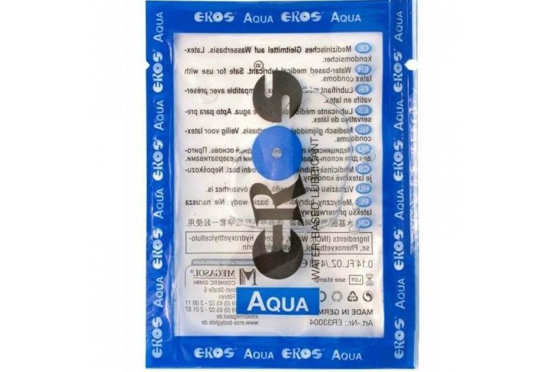 eros aqua lubricante base agua 4 ml