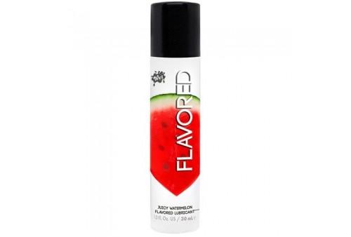 wet flavored lubricante sandia 30 ml