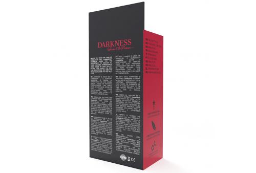 darkness plug anal 28cm silicona negro