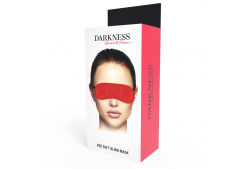 darkness máscara antifaz rojo