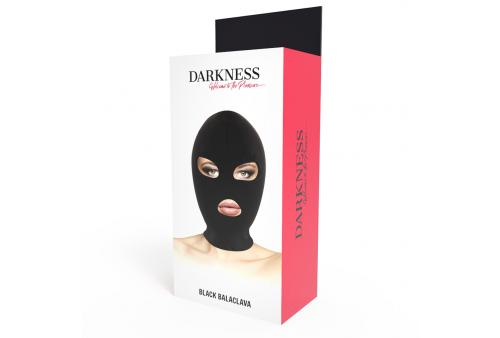 darkness bdsm máscara sumisión boca y ojos negro