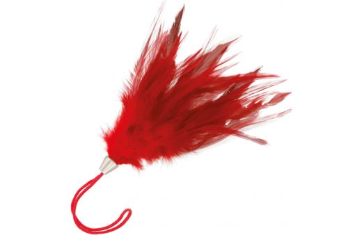 darkness pluma estimuladora rojo 17cm