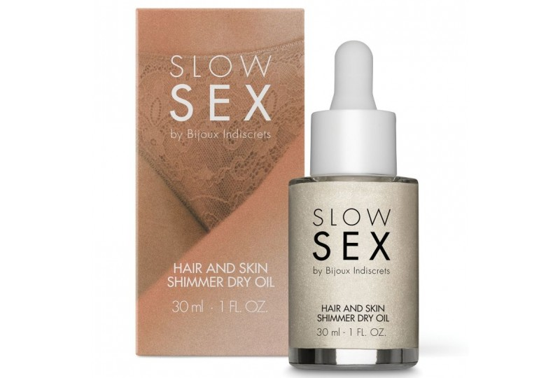 slow sex aceite seco iluminador multifuncion 30 ml