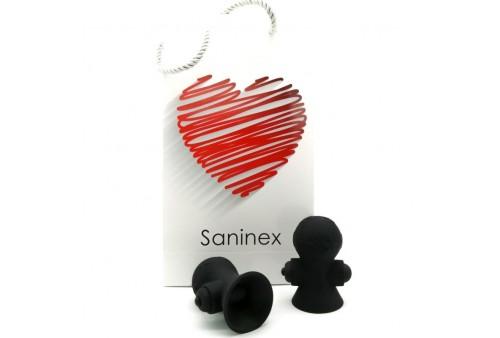 saninex suctioner world estimulador pezones negro