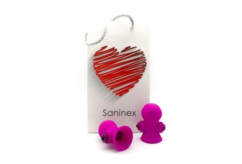 saninex suctioner world estimulador pezones rosa