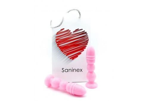saninex delight plug dildo rosa