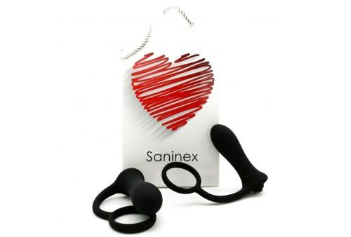 saninex plug vibrador con anillo brave