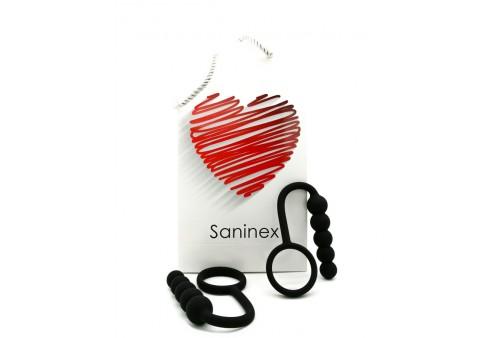 saninex duplo plug anal con anillo