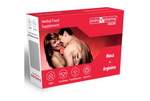 andropharma vigor suplemento potenciador líbido