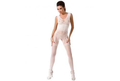 passion woman bs052 bodystocking blanco talla unica