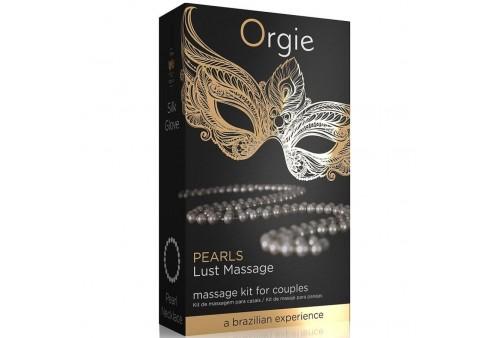 orgie pearl lust massage set masaje para parejas