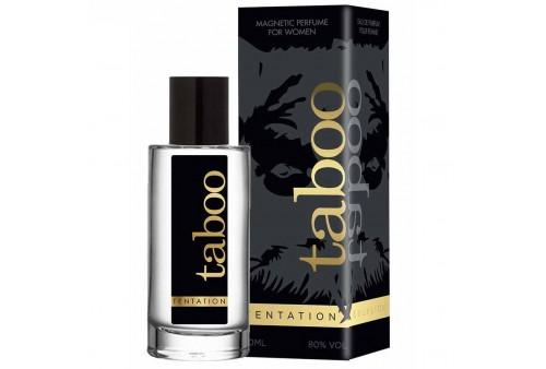 taboo tentation perfume con feromonas para ella 50ml