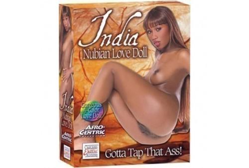 calex muñeca hinchable del amor india