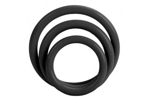 calex set tres anillas negro erección