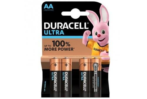 duracell ultra power pila alcalina aa lr6 blister4