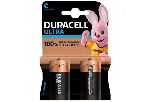 duracell ultra power pila alcalina c lr14 blister2