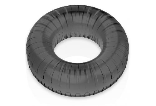 powering super flexible y resistente anillo pene 45cm pr07 negro