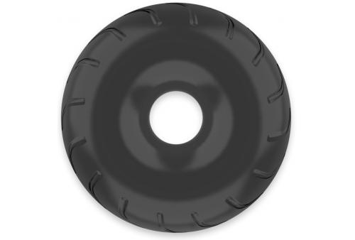 powering super flexible y resistente anillo pene 5cm pr08 negro